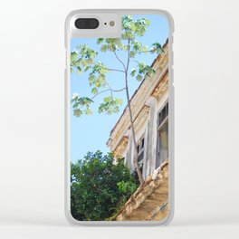 130. House of Trees, Cuba Clear iPhone Case