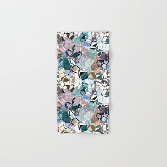 Abstract Geometric Shapes Hand & Bath Towel