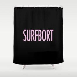 Surfbort Shower Curtain