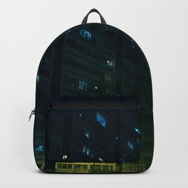 2019 Kowloon City Night View, Hong Kong Backpack