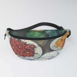 "Paul Cezanne ""Still Life with Cherries and Peaches"" Fanny Pack"