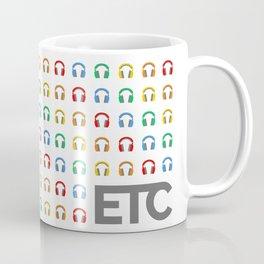 ETC Kid Sub Badge Rainbow Coffee Mug