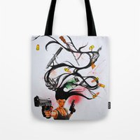 architect Tote Bags featuring The Architect Pt. 2 by 3:33