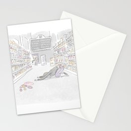 Child's Pose Stationery Cards