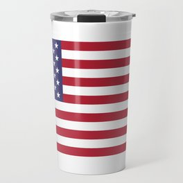 National flag of the USA - Authentic G-spec scale & colors Travel Mug