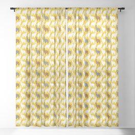 The Alpacas Sheer Curtain