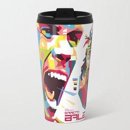 Gareth Bale WPAP 3 Travel Mug