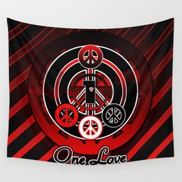 One Love (Emo) Wall Tapestry