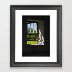 A Clear View   Framed Art Print