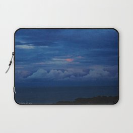 Painted Sky at Dusk (Chicago Sunrise/Sunset Collection) Laptop Sleeve
