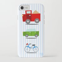 cars iPhone & iPod Cases featuring Cars by Alapapaju