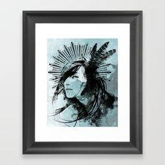 Farther Away Framed Art Print