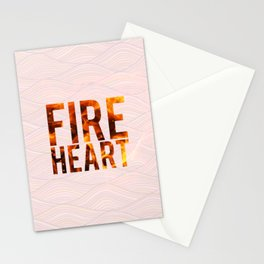 Fireheart Stationery Cards
