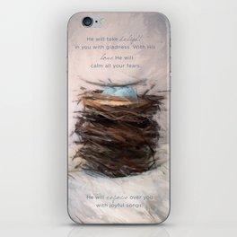 Bird Nest 4 iPhone Skin
