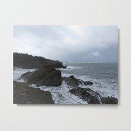 Shore Acres, Oregon Metal Print
