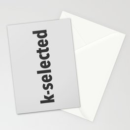 K-Selected Stationery Cards