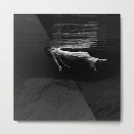 Lady in the Water Metal Print