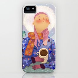 Hot Chocolate iPhone Case