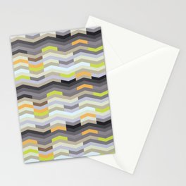 Modern Chevron - Fresh Green Stationery Cards