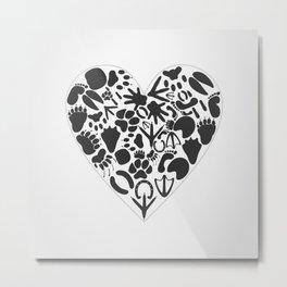 Heart of an animal Metal Print