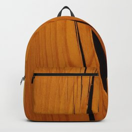 Rustic wooden texture pattern Backpack