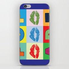 POP Art Lips iPhone & iPod Skin