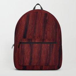 Deep red wood veneer design Backpack