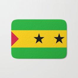 Flag of Sao Tome and Principe Bath Mat