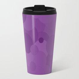 Dewberry Bubble Dot Color Accent Travel Mug