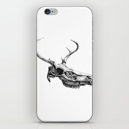 Deer Skull iPhone Skin