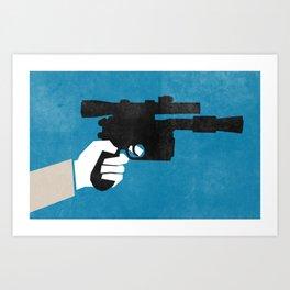 Shoot First (Han) Art Print