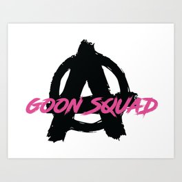 Goon Squad Vol.1 Art Print