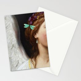 Angel With A Pearl Earring Stationery Cards