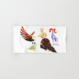 Arctic animals Hand & Bath Towel