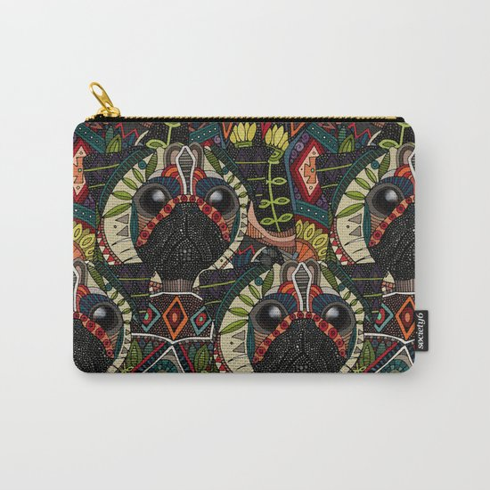 pug love pale dogwood Carry-All Pouch