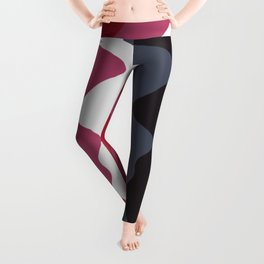 Abstract lines 23 Leggings