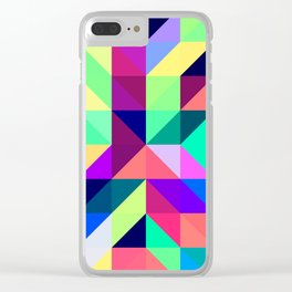 Untitled Pattern 2 Clear iPhone Case