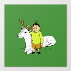 deer joke Canvas Print