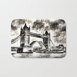 Tower Bridge and the Waverley Art Bath Mat