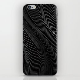 Minimal curves II iPhone Skin