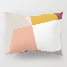 Abstract Geometric 27 Red Pillow Sham