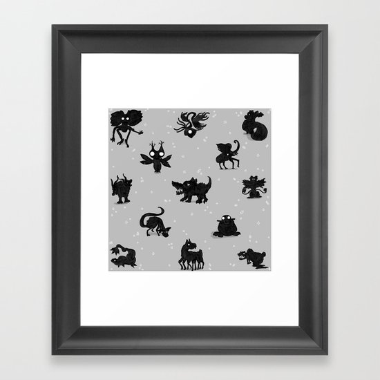 BenZoo Bombast Framed Art Print
