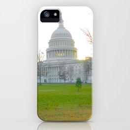 us capital building iPhone Case