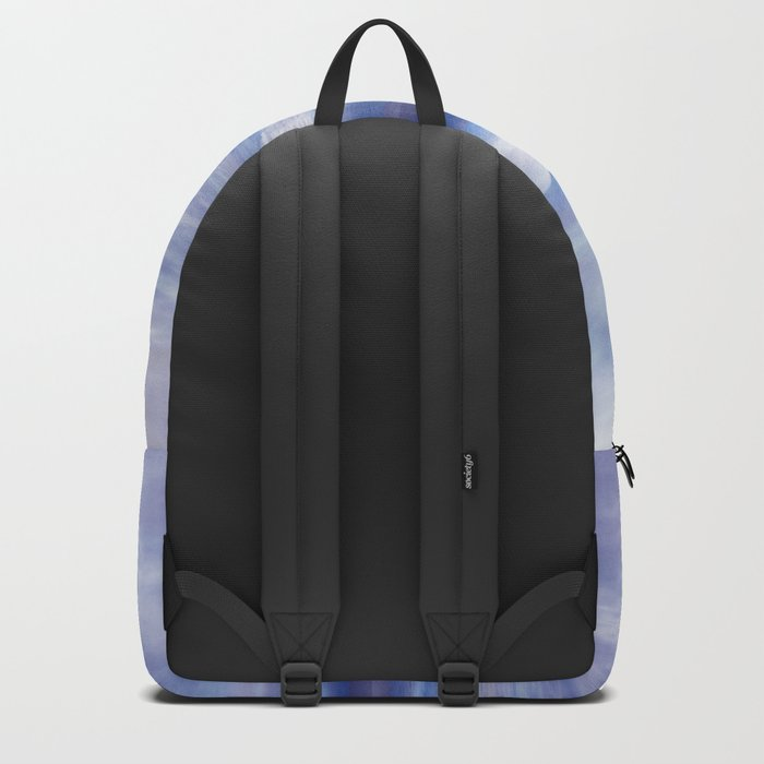 Sunset In Blue Backpack