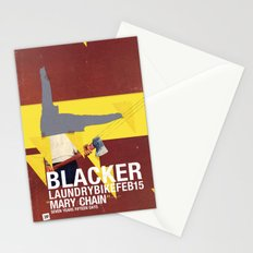 Mary Chain & Blacker band poster Stationery Cards
