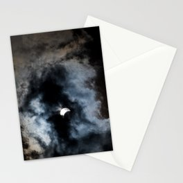 Partial Solar Eclipse Stationery Cards