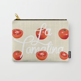 La Tomatina Carry-All Pouch