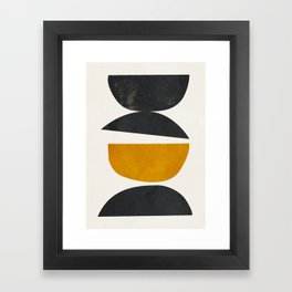 abstract minimal 23 Framed Art Print
