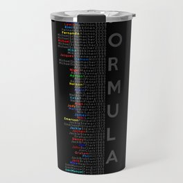 Formula 1 Champions Travel Mug