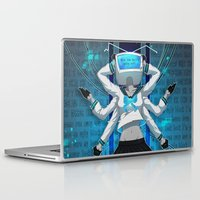 vocaloid Laptop & iPad Skins featuring What the hell's going on?! by Helixel